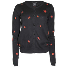 Pre-owned MAISON SCOTCH Cotton Star Cardigan Black (3)