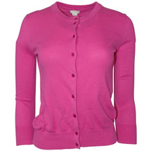 Pre-owned J. Crew Factory CLARE CARDIGAN SWEATER Pink (S)
