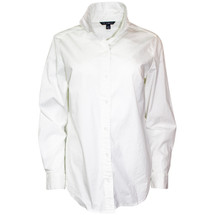 Pre-owned Zac & Rachel Sexy Fit Button Down White (L)