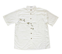 Men's Bamboo Cay Flying Bamboos Embroidered Camp Shirt