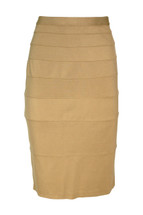 Pre-Owned Thalian Sexy Pencil Skirt Nude (6)