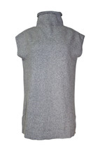 Abound Sleeveless  Knitted Turtleneck Sweater Grey Cloudy Heather (S)