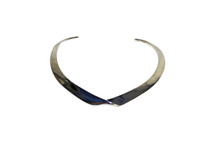 Banana Republic Women's Metallic Classic Rebel Sculpture Collar Necklace