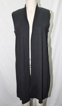 ST. Topez Side Zipper Sweater Vest Black (S)