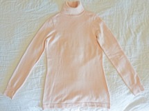 French Connection Babysoft Turtleneck Sweater Pink Dust Small