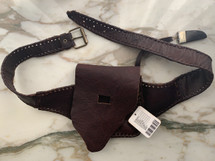 Free People Leather Belt Bag Brown