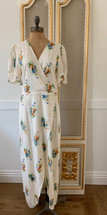 Madewell Ruffle-Sleeve Maxi Dress in Classic Corsage Size 10