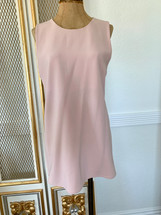 Pre-owned Theory Sleeveless Pastel Pink Top Pullover (L)