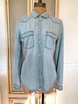Pre-owned Slim Fit AEO Chambray Shirt (M)