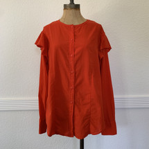 Pre-owned Current/Elliott The Ashley Shirt POINCIANA (2)