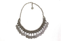 Chanour Pewter Short Chain