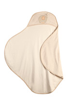 Eotton Certified Organic Cotton Baby Wrap w/ Elephant