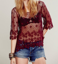 Free People LA Livin Flower Shop Top Colors
