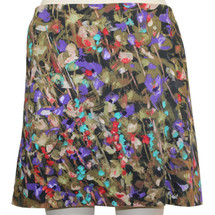 J.CREW Mini Skirt With Pockets Size 4 Floral Combo