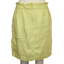 J.CREW 100% Linen Mini Skirt Size 8 Msrp $138
