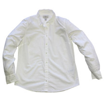 J. Crew Boy Shirt in Classic White