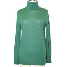 J.Crew 100% Merino Wool Neck Emerald Size Small Sweater Size: 4 (S)
