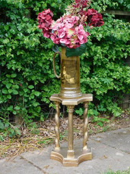 ANTIQUE ARCHITECTURAL GILT DISPLAY STAND