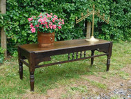 ANTIQUE ARTS & CRAFTS OAK WINDOW OR DINING BENCH