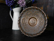 ANTIQUE EASTERN COPPER CHARGER OR DISH