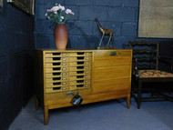 20th CENTURY ANTIQUE CONTEMPORARY CABINET  - NOW SOLD