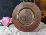 ANTIQUE EASTERN METAL PLATE