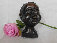 ANTIQUE WELL MODELLED TERRACOTTA STUDY BUST