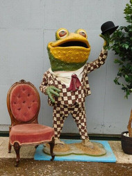 "5'2"" ANTIQUE FAIRGROUND FIGURE OF MR.TOAD - NOW SOLD"