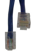 CAT-5E Cable 10 FT, BLUE Jacket (m8bl010f)
