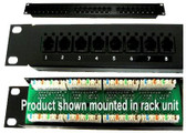 PATCH PANEL BLOCK with 8 RJ11 PORTS (ktpp6a0)