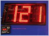 "Three-digit LED Display, 10"" Digits (dsp1003b)"