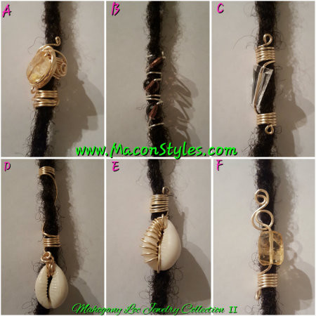 Mahogany Loc Jewelry Collection II