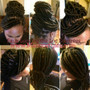 To book an appointment for Faux Locs, please make your purchase for this style. The $50 only serves as a deposit to secure your appointment for this style, it is not the total cost of the service. A consultation will be needed in order to get the exact pricing. $50 will go toward your total balance which is due on the appointment date. Thank you.