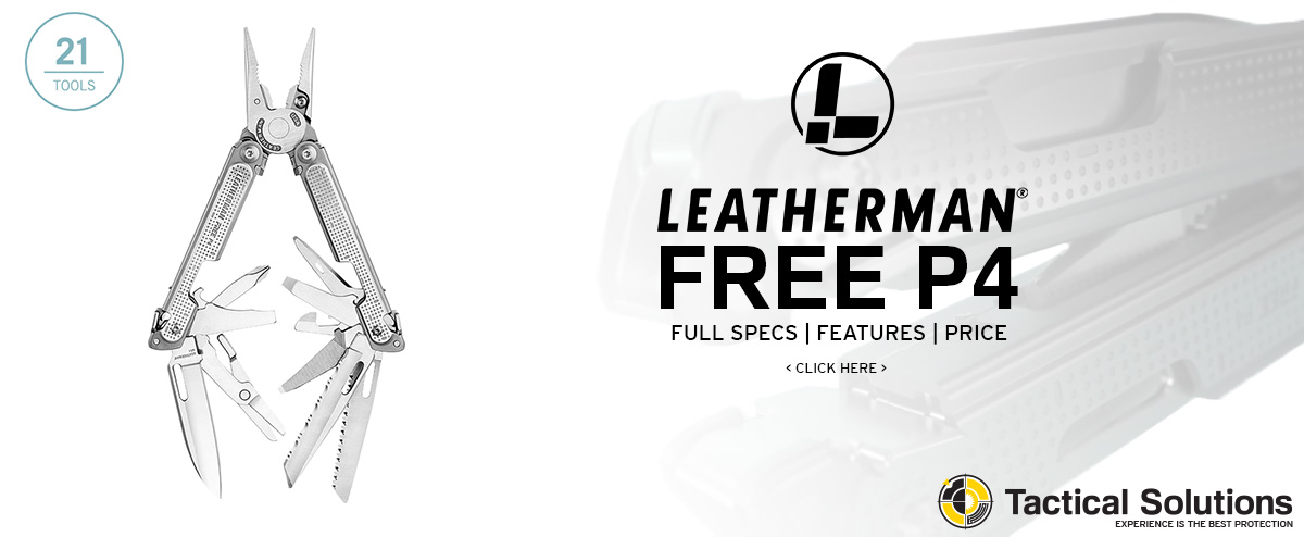 Image link to pricing tools specifications and features to the Leatherman Free P4