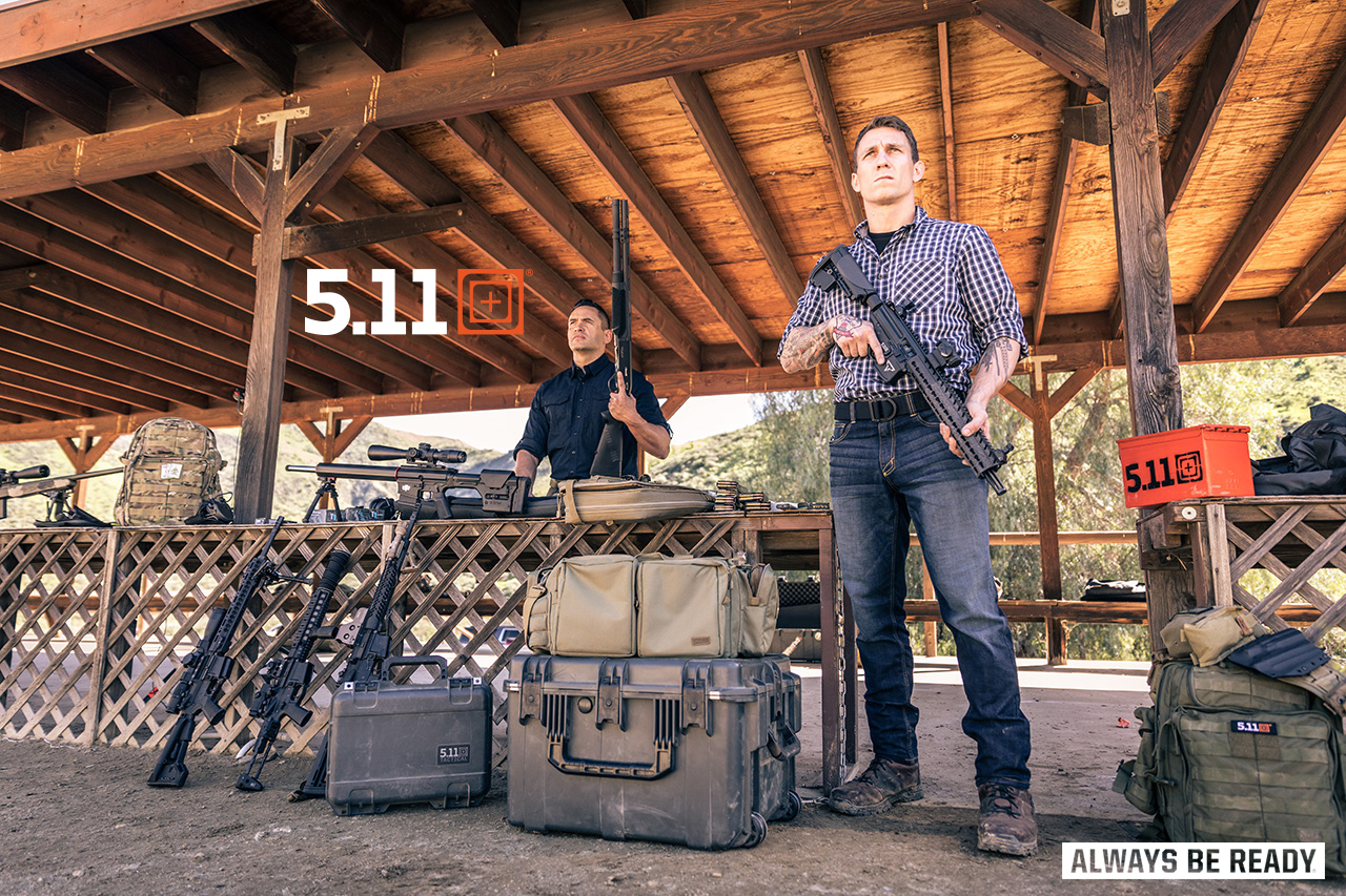511 Range pants, bags, what to wear at the range