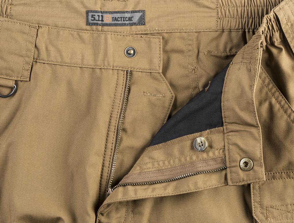 511 taclite shorts 11 inch coyote 73308-120-01 waisband