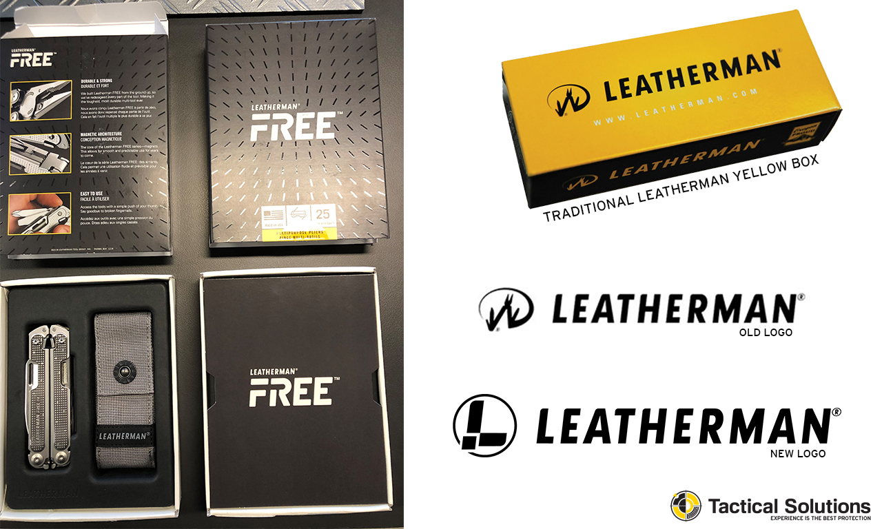 Leatherman P4 Free unboxing and packaging compared to old Leatherman yellow box