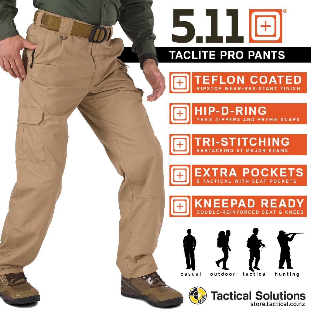 Features of 511 Taclite Pro pant
