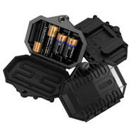 5.11 Tactical Battery Case Black 4 x Batteries