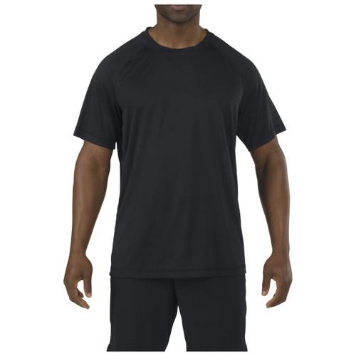 5.11 UTILITY PT Shirt S/S 41017 - black - front