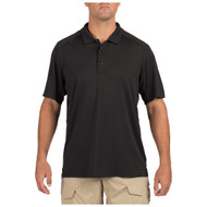 5.11 Helios Short Sleeve Polo Shirt Black