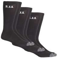 "5.11 3-Pack 9"" Sock Black"