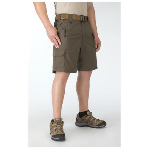 """5.11 Taclite Shorts 9.5"""" 73287 tundra left"""