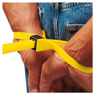 ASP Tri-Fold Cuffs 6-Pack Yellow