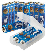 ASP AA Lithium Battery 12-BOX+LINK CASE