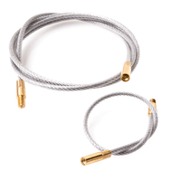 Breakthrough Cable with Brass Threads - Set