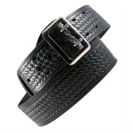 "Boston Leather Sam Browne Belt 2.25"" Basketweave"