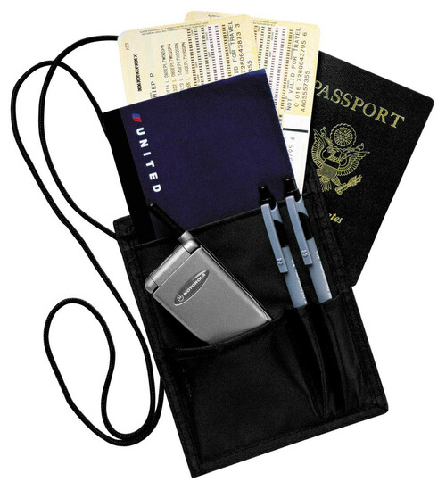 Key-Bak #ID200Travel-Secure ID Black