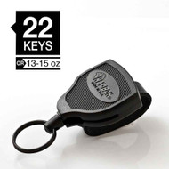 "Key-Bak Super48 36"" Black w/Belt Loop"