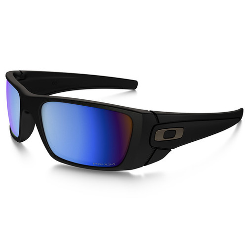 070194a7e5 OAKLEY FUEL CELL - Matte black frame with PRIZM Deep Water ...